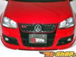 Garage Vary Передняя губа 02 Type A - Карбон - Volkswagen Golf MK5 05-09