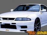 GP Sports передний  бампер 01 Nissan Skyline GT-R R33 95-98