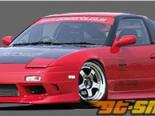GP Sports передний  бампер 03 Nissan 240SX S13 89-94