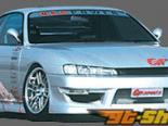 GP Sports передний  бампер 04 Nissan 240SX S14 95-98