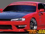 GP Sports передний  бампер 05 Nissan 240SX S14 95-98