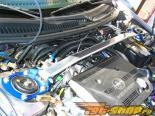 GTSPEC передний  Strut Brace (Prot?g? (4 Двери) Type-F - Aluminum) [GTS-SUS-1070]