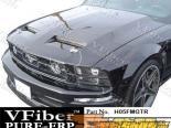 Пластиковый капот на Ford Mustang 05-09 GTR Стиль