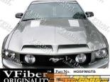 Пластиковый капот для Ford Mustang 05-09 GTS Стиль