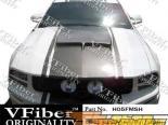 Пластиковый капот на Ford Mustang 05-09 SH-GT Стиль