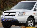 Стальная решётка на передний бампер для Honda Pilot 2006-2008