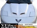 Пластиковый капот на Pontiac Firebird 93-97 WS6-2 Стиль