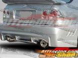 Задний бампер для Honda Civic 1996-2000 EVO3