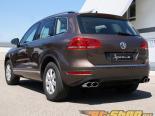 Hofele нержавеющий Double Oval Хром Sport насадка на выхлоп Volkswagen Touareg 11-14