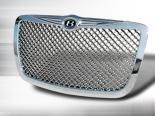 Хромированная решётка радиатора на Chrysler 300|300C 2005-2009