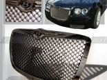 Решётка радиатора на Chrysler 300C 05-06 Mesh Gunmetal : Spec-D