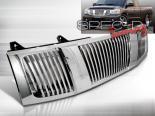 Решётка радиатора для  Nissan Titan 04-07 Хром: Spec-D
