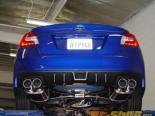 Invidia Q300 Выхлоп выхлоп with Rolled Титан Burnt Quad Tips Subaru WRX | STI 2015