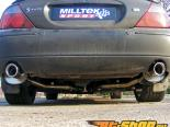 Milltek коллектор-Back Set Jaguar S-Type R 4.2 V8 00-08