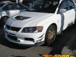 JDP Engineering Карбон Rally Стиль Передняя губа Спойлер Mitsubishi Evolution IX 06-07