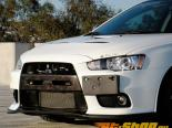 JDP Engineering Карбон DL Передняя губа Спойлер without Fins Mitsubishi Evolution X 08-14