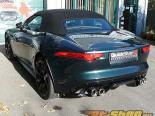 Quicksilver Sport нержавеющий Steel Выхлопная система Jaguar F Type V8 14-15