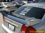 Крыло на спойлер для Honda Civic 2001-2005 Карбон