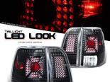 Задняя оптика для LINCOLN NAVIGATOR 03-06 BLACK