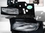 Противотуманная оптика на Ford Mustang 96-98 Хром V2 : Spec-D