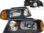 Передние фары для Lincoln Navigator 98-02 Black