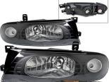 Передние фары для Nissan Altima 93-97 Чёрный