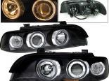Передняя оптика для BMW 97-01 Dual Halo Projector Чёрный