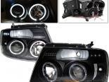 Передняя оптика на Ford F150 04-07 Projector Чёрный