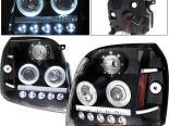 Передняя оптика на GMC DENALI 07-08 Halo Projector Black