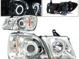 Передняя оптика для Lexus LX470 98-07 Halo Projector CCFL Chrome