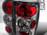 Задние фонари на Chevrolet Blazer 95-02 Altezza Тёмный хром