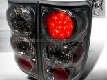 Задняя оптика для Chevrolet Blazer 95-00 Тёмный хром: Spec-D