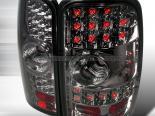 Задняя оптика для GMC Denali 00-06 Тёмный хром: Spec-D