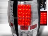 Задние фары для GMC Denali 07-10 Хром V3 : Spec-D