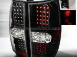 Задние фары для GMC Denali 07-10 Black V2 : Spec-D