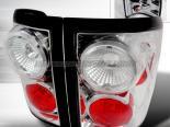 Задние фары для Ford F150 04-06 Хром V2 : Spyder