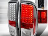 Задняя оптика на Ford F250 08-10 Хром : Spec-D