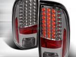 Задняя оптика на Ford F250 08-10 Тёмный : Spec-D