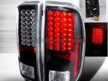 Задняя оптика на Ford F250 08-10 Чёрный : Spec-D