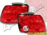 Задние фары на Ford Mustang 99-03 Altezza Красный