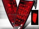 Задняя оптика на FORD FOCUS 00-07 Красный : Spec-D