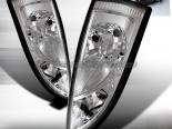 Задняя оптика на FORD FOCUS 00-07 Хром V2 : Spec-D