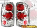 Задние фары для GMC Denali 00-03 Altezza Хром