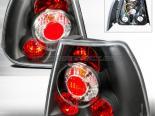 Задние фары для Volkswagen Jetta 99-04 Altezza Чёрный : Spec-D
