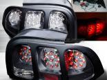 Задняя оптика на Ford Mustang 94-98 Чёрный : Spec-D