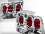 Задняя оптика для FORD MUSTANG 99-04 Хром : Spec-D