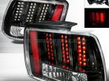 Задние фары для Ford Mustang 99-04 Чёрный V2 : Spec-D