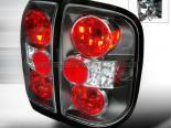 Задние фонари для Nissan Pathfinder 99-04 Altezza Чёрный: Spec-D