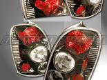 Задние фары для Mazda Protege 01-03 Smoke : Spec-D