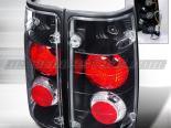 Задние фонари для Isuzu Amigo 88-97 Altezza Black : Spec-D